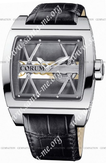 Corum Ti-Bridge Mens Wristwatch 007.400.04-0F81.0000