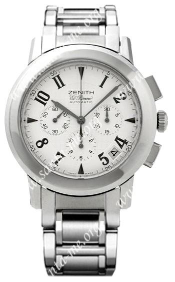 Zenith Port Royal El Primero Mens Wristwatch 02.0451.400.02.M451