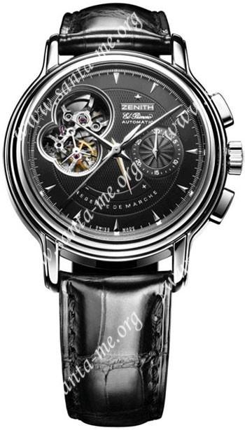 Zenith Chronomaster T Open Mens Wristwatch 03.0240.4021-22.C495