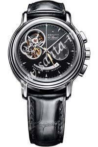 Zenith Chronomaster T Open Mens Wristwatch 03.0240.4021.21.C495