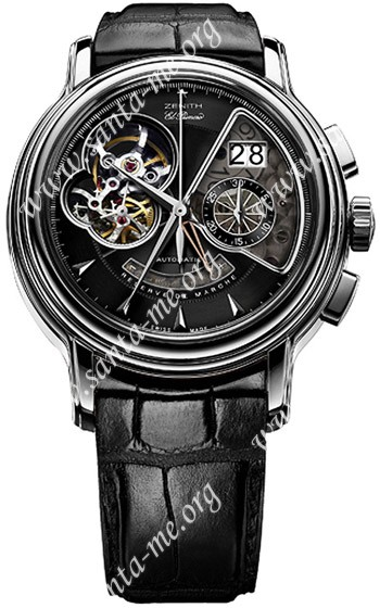 Zenith Chronomaster T Open Grande Date Mens Wristwatch 03.0240.4039.21.C610