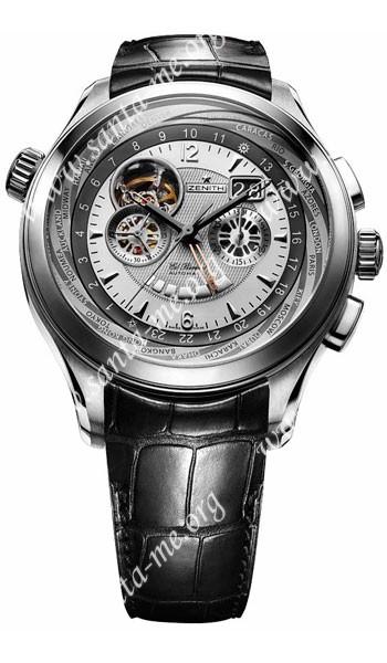 Zenith Grande Class Traveller Multicity Mens Wristwatch 03.0520.4037.01.C492