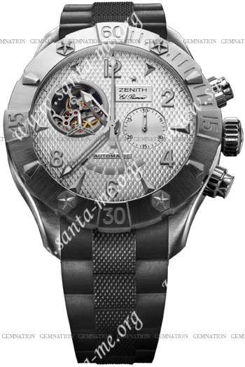 Zenith Defy Classic Open El Primero Mens Wristwatch 03.0526.4021-01.R642