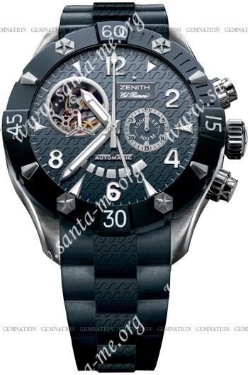 Zenith Defy Classic Open El Primero Sea Mens Wristwatch 03.0529.4021-51.R674