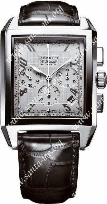 Zenith Port Royal Grande El Primero Mens Wristwatch 03.0550.400.02.C507