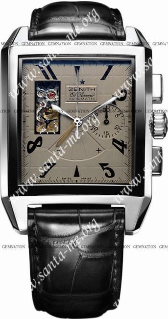 Zenith Port-Royal Open XT Mens Wristwatch 03.0550.4021-76.C503