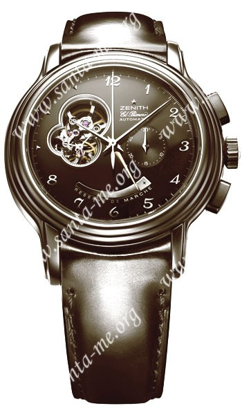 Zenith Chronomaster XXT Open Mens Wristwatch 03.1260.4021.96.C616