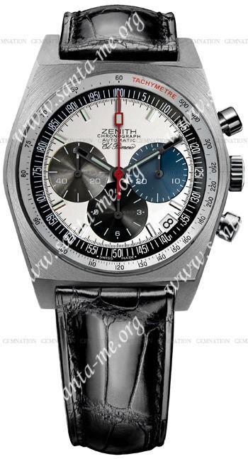 Zenith Vintage 1969 Mens Wristwatch 03.1969.469-01.C490