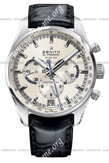 Zenith 36'000 VPH Mens Wristwatch 03.2040.400-01.C496