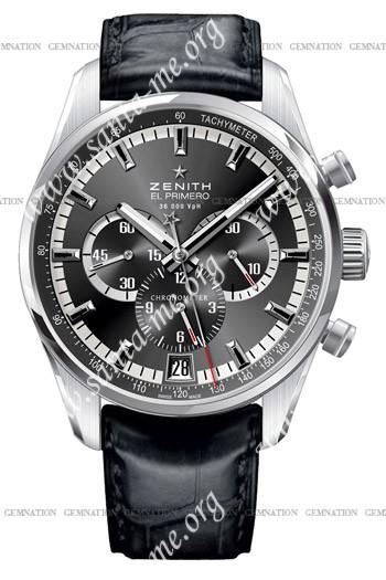 Zenith 36'000 VPH Mens Wristwatch 03.2040.400-21.C496
