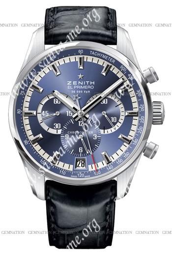 Zenith 36'000 VPH Tribute to Charles Vermot Mens Wristwatch 03.2041.400-51.C496