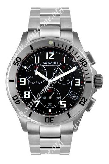 Movado  Mens Wristwatch 0605968