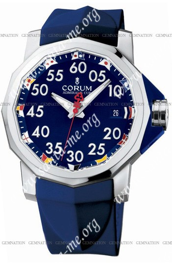 Corum Admirals Cup Competition 40 Mens Wristwatch 082.962.20-F373-AB12