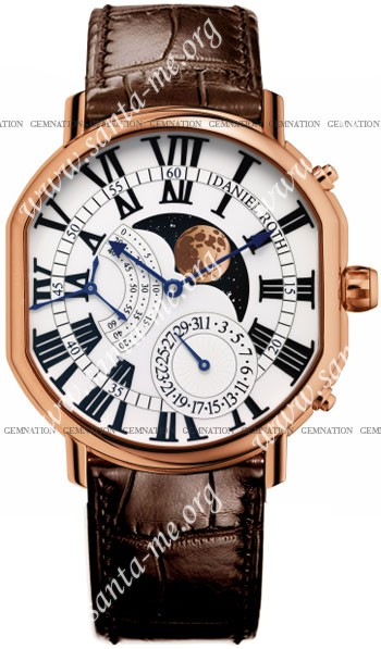 Daniel Roth Athys III Moon Mens Wristwatch 115.Z.50.101.CB.BA