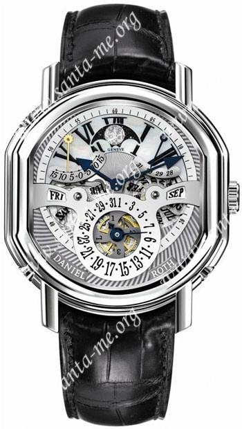 Daniel Roth Ellipsocurvex Perpetual Calendar Time Equation Mens Wristwatch 121.Y.60.721.CN.BD