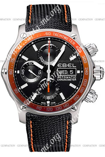 Ebel 1911 Discovery Chronograph Mens Wristwatch 1215889