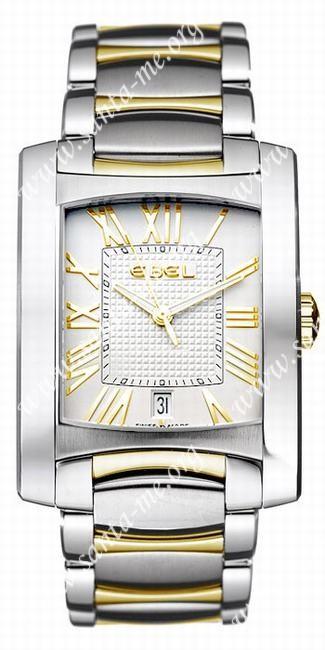Ebel Brasilia Mens Wristwatch 1255M41.02500