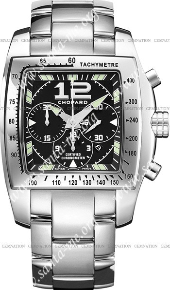 Chopard Two O Ten XL Unisex Wristwatch 158961-3001-Black