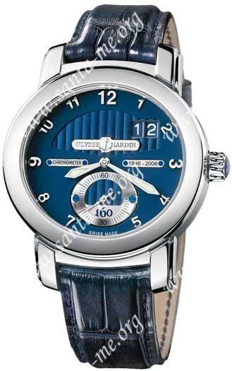 Ulysse Nardin 160th Anniversary Mens Wristwatch 1600-100