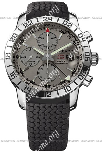 Chopard Mille Miglia GMT 2009 Mens Wristwatch 168992-3022