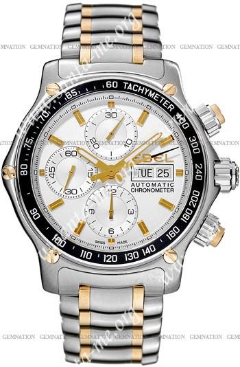 Ebel 1911 Discovery Chronograph Mens Wristwatch 1750L62.63B60