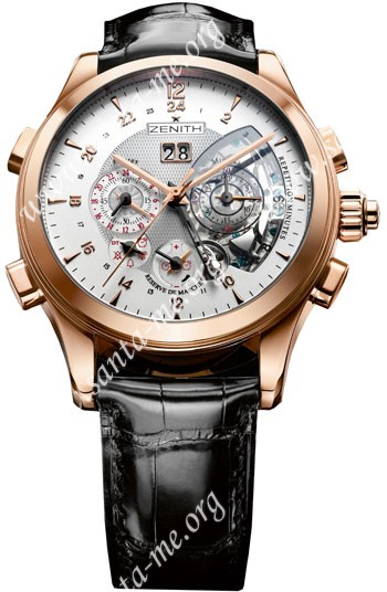 Zenith Grand Class Traveller Minute Repeater Mens Wristwatch 18.0520.4031-01.C492
