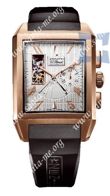 Zenith Grande Port-Royal Open El Primero Concept Mens Wristwatch 18.0550.4021.01.R512