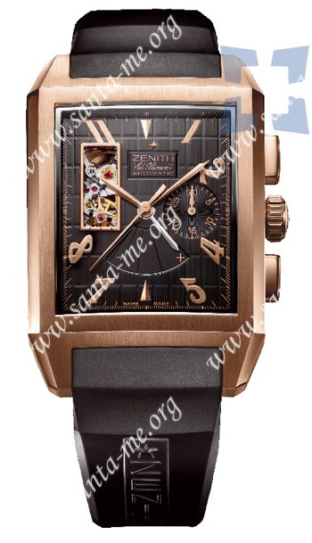 Zenith Grande Port-Royal Open El Primero Concept Mens Wristwatch 18.0550.4021.21.R512