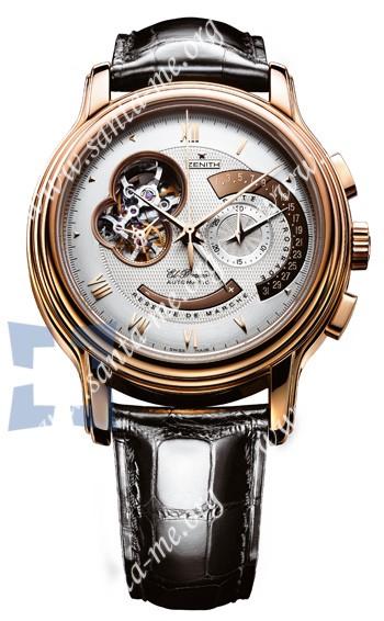 Zenith Chronomaster XXT Open Mens Wristwatch 18.1260.4023-01.C505