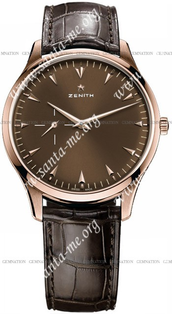 Zenith Elite Mens Wristwatch 18.2011.681-75.C498