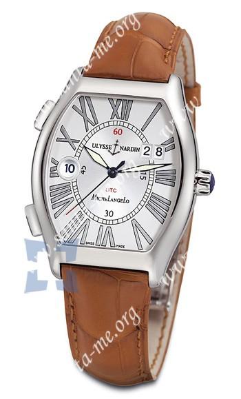 Ulysse Nardin Michelangelo Gigante UTC Dual Time Mens Wristwatch 223-11-41