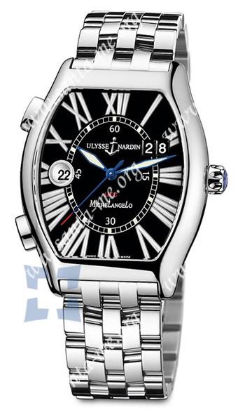 Ulysse Nardin Michelangelo Gigante UTC Dual Time Mens Wristwatch 223-11-7-42