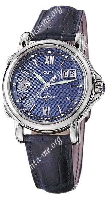 Ulysse Nardin GMT +- Big Date Mens Wristwatch 223-88.383