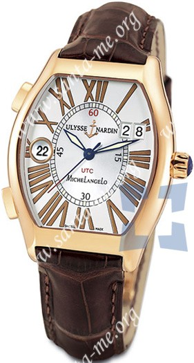 Ulysse Nardin Michelangelo Gigante UTC Dual Time Mens Wristwatch 226-11.41