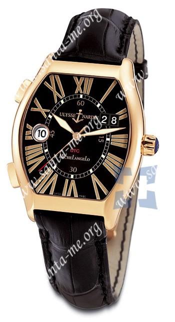 Ulysse Nardin Michelangelo Gigante UTC Dual Time Mens Wristwatch 226-11.42