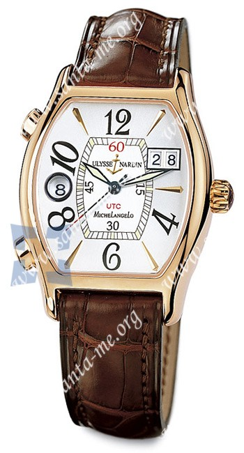 Ulysse Nardin Michelangelo UTC Dual Time Mens Wristwatch 226-68-581