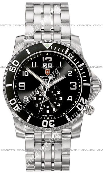 Swiss Army Maverick II Dual Time Mens Wristwatch 241166