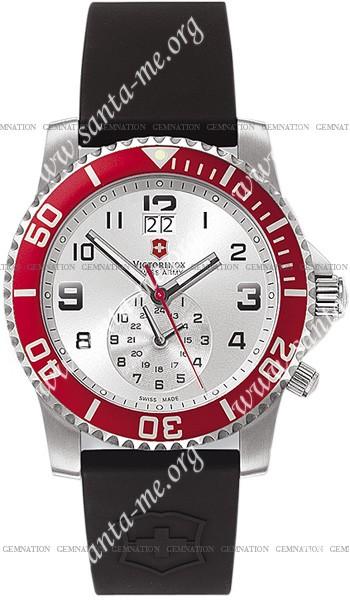 Swiss Army Maverick II Dual Time Mens Wristwatch 241177