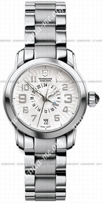 Swiss Army Vivante Dual Time Ladies Wristwatch 241259