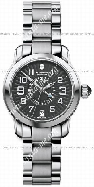 Swiss Army Vivante Dual Time Ladies Wristwatch 241260