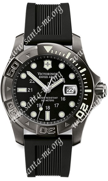 Swiss Army Dive Master 500 Black Ice Mens Wristwatch 241263