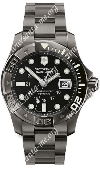 Swiss Army Dive Master 500 Black Ice Mens Wristwatch 241264