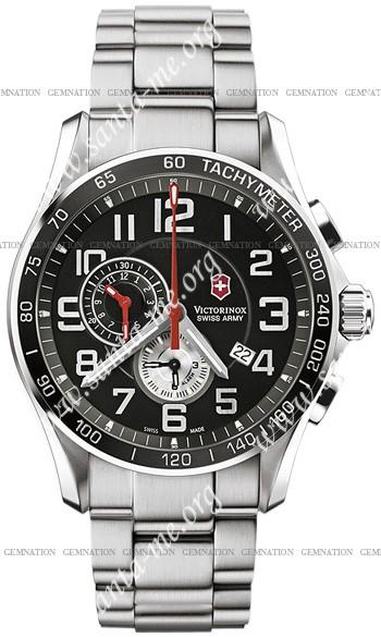 Swiss Army Chrono Classic XLS Alarm Mens Wristwatch 241280