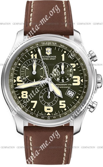 Swiss Army Infantry Vintage Chrono Mens Wristwatch 241287