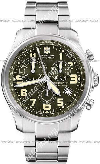 Swiss Army Infantry Vintage Chrono Mens Wristwatch 241288
