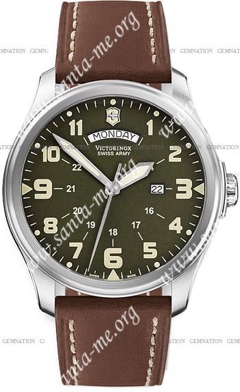 Swiss Army Infantry Vintage Day-Date Mens Wristwatch 241290