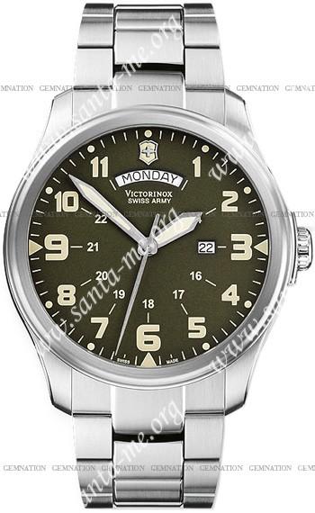 Swiss Army Infantry Vintage Day-Date Mens Wristwatch 241291