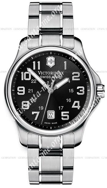 Swiss Army Officers Gent Mens Wristwatch 241358