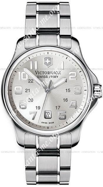 Swiss Army Officers Gent Mens Wristwatch 241359