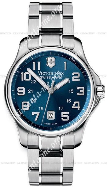 Swiss Army Officers Gent Mens Wristwatch 241360